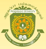 Alagappa University  Directorate of Distance Education Sivanagar